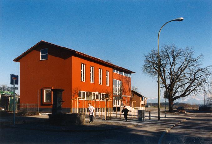 schmid architekten bauten weitere bauten neubau kirchgemeindehaus evang ref. Black Bedroom Furniture Sets. Home Design Ideas