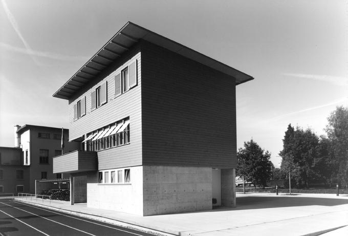 schmid architekten bauten wohnbauten neubau hauswarthaus oberstufenschulhaus walenbach. Black Bedroom Furniture Sets. Home Design Ideas
