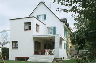 schmid architekten bauten wohnbauten anbau und umbau einfamilienhaus winterthur. Black Bedroom Furniture Sets. Home Design Ideas